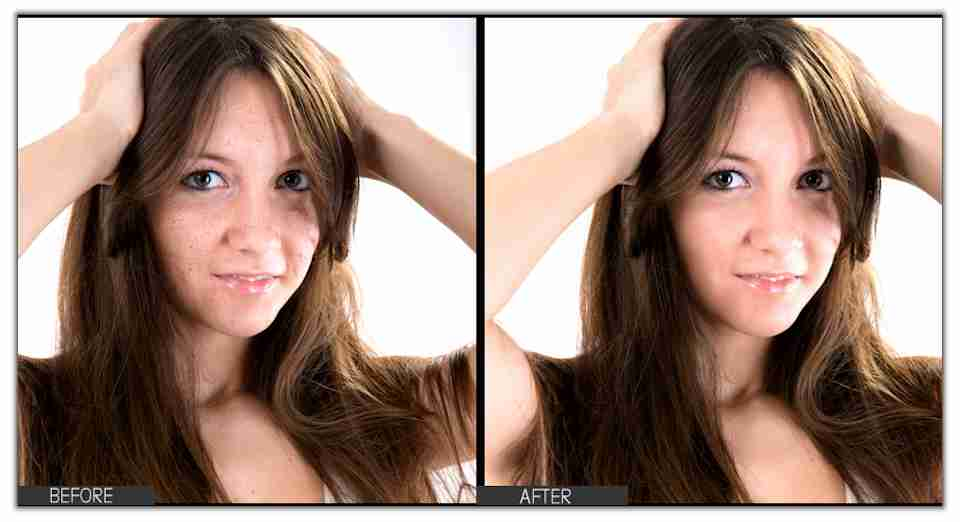 Blemish Removal Photo Editing - Logic Web Designs - Pittsburgh