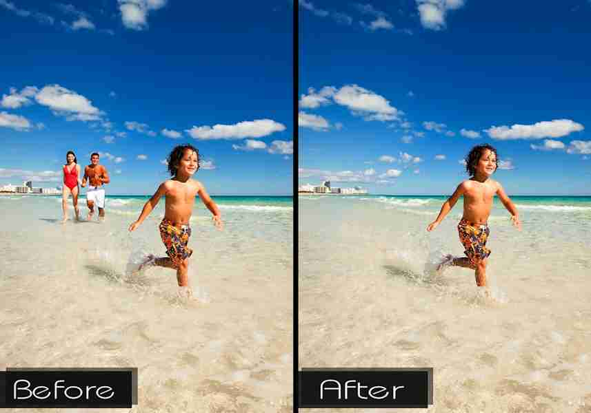 Object Removal Photo Editing - Logic Web Designs - Pittsburgh
