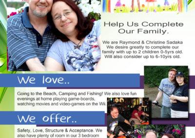 Adoption Pamphlet Design